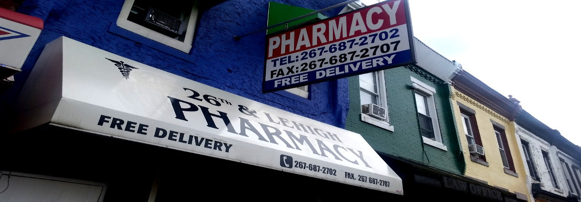 Welcome to 26th & Lehigh Pharmacy!
